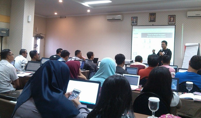 eko priyanto Kelas Sapu jagad Internet Marketing SB1M di Jogja2