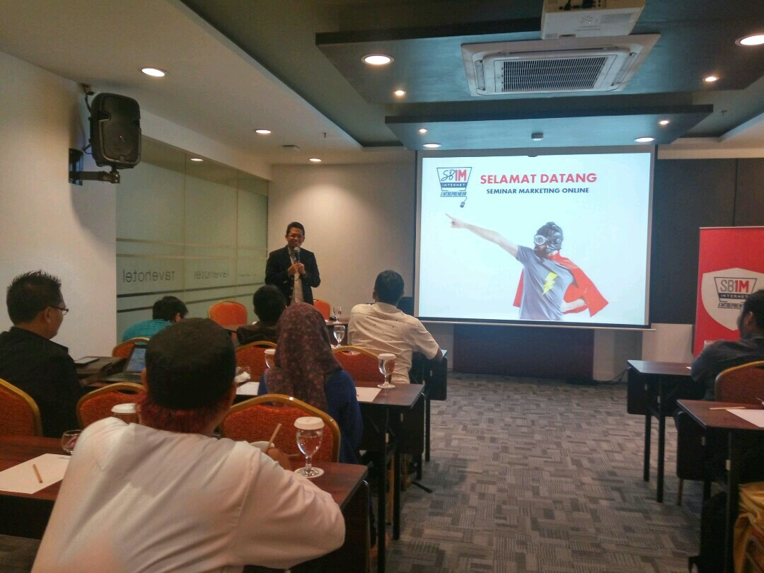 Seminar marketing online SB1M di kota depok